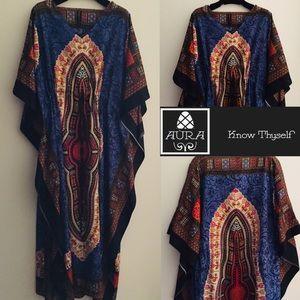African Boho Kaftan Abaya Dishdasha DressBoutique for sale
